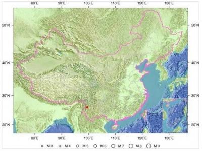 云南大理洱源发生4.5级地震