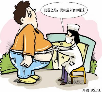 脖粗易發心血管病?肚大才危險!