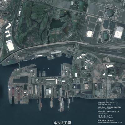 中國商用衛星拍到美航母高清圖 軍用水平引猜想