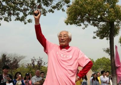 通达学院师生参加南京邮电大学75周年校庆健身跑