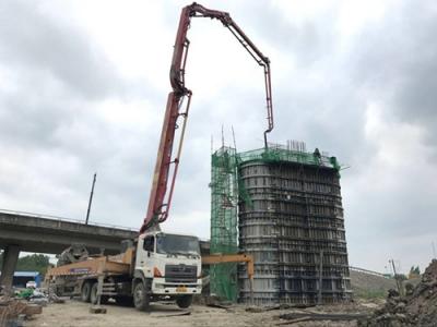 连淮扬镇铁路新进展:重点工程宝应特大桥转入上部结构施工