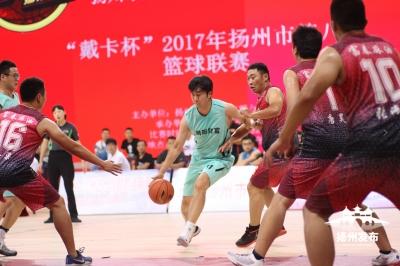 第八年!2017扬州市篮球联赛今揭幕