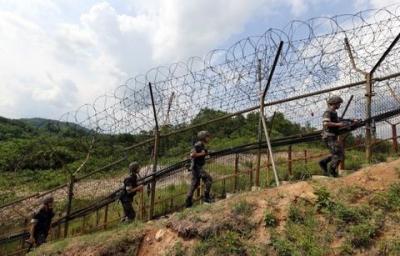 韩国最前线哨所发生机枪走火:向北部开了4枪