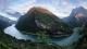湖北长阳清江国家地质公园揭牌开园 美若仙境