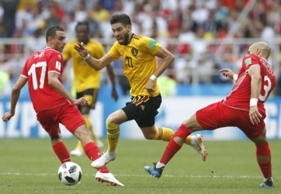 两场世界杯赛都派中超球员首发,比利时主帅这样说