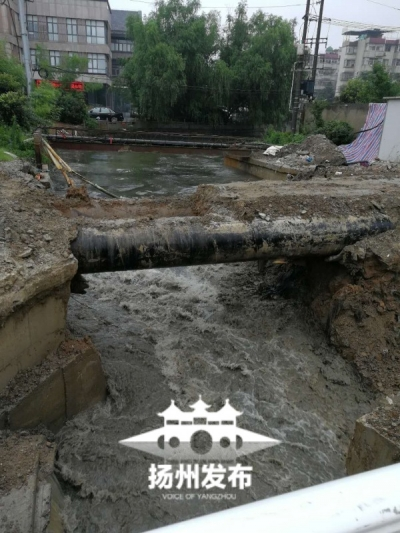 扬州遭遇入梅以来最强降雨:里下河射阳镇超警,39座水库超汛限