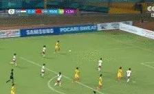 中国女足16-0狂胜弱旅 王珊珊替补独中9球赵容5球
