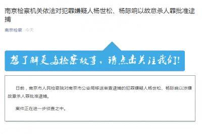 """""""江宁溺死女童案""""最新进展:爷爷、父亲涉嫌故意杀人被批捕"""