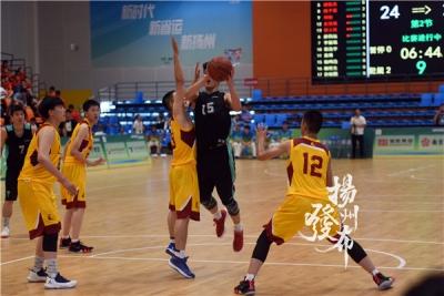 【省運會】揚州隊惜敗獲第四,13日將征戰全省高中生籃球賽