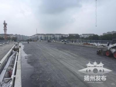 好消息!观潮路跨古运河大桥国庆前通车