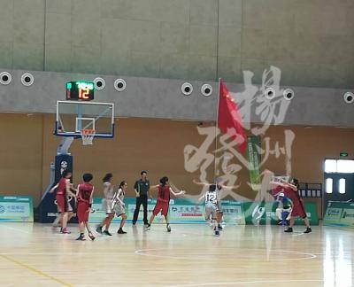 省運會青少年部女子籃球12-13歲組:揚州2分之差惜敗南京
