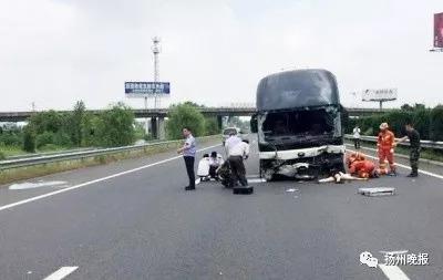 扬州警方通报调查结果:客车撞断高速护栏,两乘客不幸死亡,原因是…