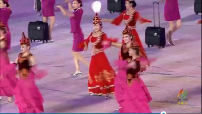 省运会开幕式精彩视频:《美好新征程》