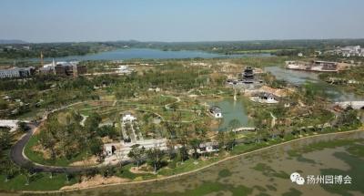 省园博会13个城市展园基本完工,宁镇扬花卉节10月1日举办
