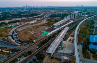 厉害了!连淮扬镇铁路建设填补多项技术空白!