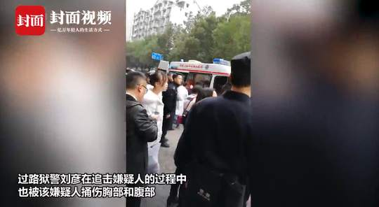 男子出狱刚10天持刀捅伤法官 受害者是审理其案的审判长(视频)