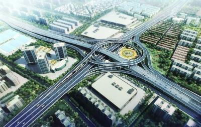 【新时代 新作为 新篇章】扬州后年建成三横三纵快速路网 在建快速路主线2021年通车
