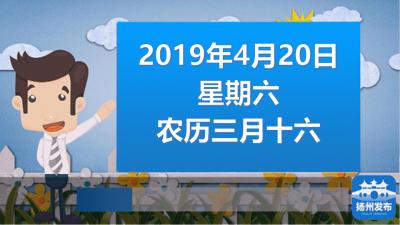 """扬州早七点:2019""""扬马""""周日开跑,这些公交线路将临时调整"""