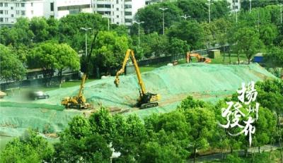 """听说过""""曲江观潮""""吗?7月底8月初,请到扬州这个公园""""登山观潮"""""""