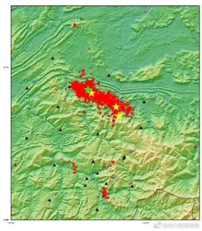 四川地震局:長寧地震后記錄到2.0級及以上余震173次