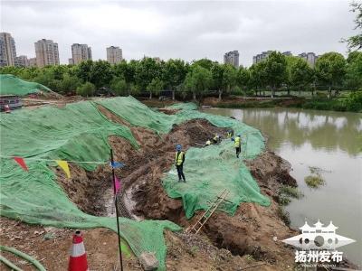 复原观潮盛景,打造健身步道!曲江公园改造提升工程完成过半