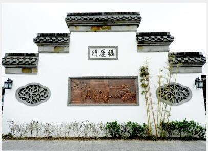 砖雕小瓦马头墙 福运门铜雕亮相南河下