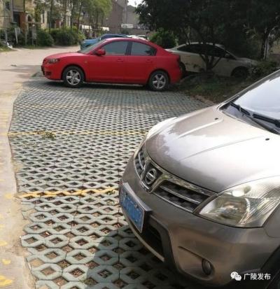 """增设停车位 广陵老小区缓解""""停车烦恼"""""""