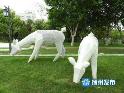 """这里新增一批""""地标""""雕塑,快去看看!"""