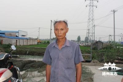 高郵一71歲老漢勇救78歲落水老漢 成功救起后他這樣說