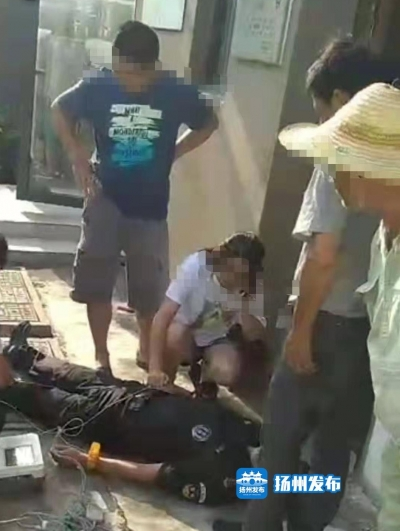 【我+新闻】刚刚!扬州一保安突然倒地,再也没醒过来……