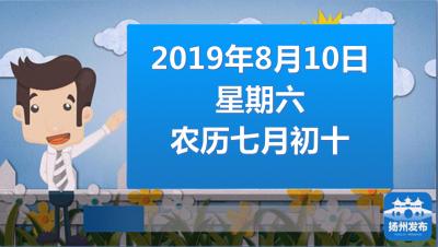 """扬州早七点:通过审批!2021年4月来扬游""""世园会"""""""