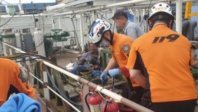 韓國造船廠液化氣泄漏引發爆炸,2名中國工人被嚴重燒傷