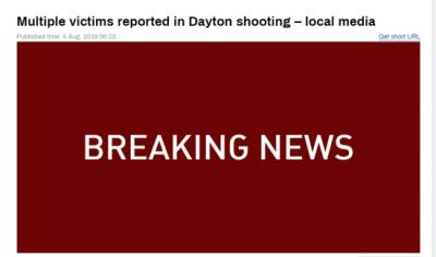 滾動 | 美國俄亥俄州槍擊案兇手身份確認 為24歲白人青年