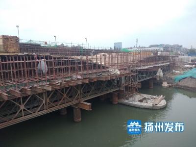 【民生传送】今年国庆,古运河上这座大桥将半幅通车