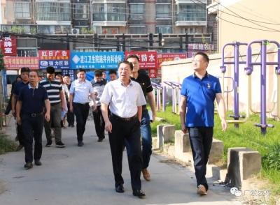 广陵区委书记潘学元调研拟上市地块