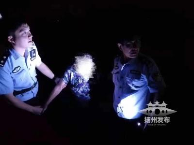 警民合力,下水营救!扬州这里上演感人一幕……