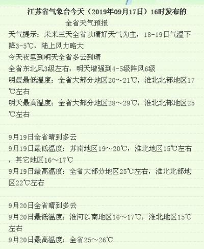 """""""秋老虎""""難回頭!淮北地區成功入秋,揚州還會遠嗎?"""
