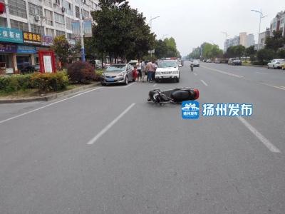 右腿残疾又没学过驾驶,江都一男子竟然开车上路了……