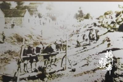 肩挑手挖,一张老照片为你讲述小秦淮河整治历史