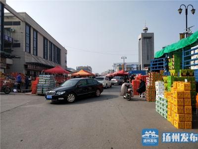 """【马上办】横一路成""""年货集市"""",方便市民挑选年货却堵了交通"""