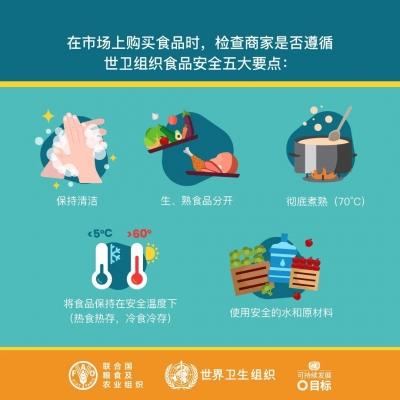 國家衛健委:去市場買菜,如何確保食品安全?