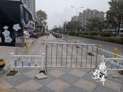 【马上办·视频】昌建广场人行道被违占,影响市民出行
