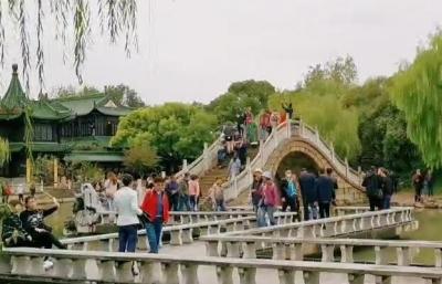 【视频】秋韵瘦西湖,为游客呈现别样美!