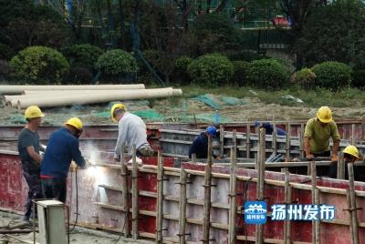"""重点工程长假按下""""加速键"""",4000多建设者用汗水为祖国献礼"""