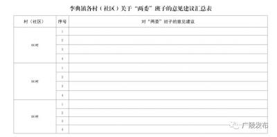 """李典镇党委:""""333""""调研式日常分析研判 为换届工作筑牢基础"""