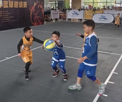 【视频】扬州市青少年篮球邀请赛揭幕  江苏省双冠王亮相球场