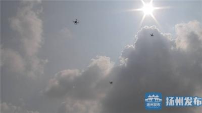 """【视频】""""黑科技""""护航国庆假期 扬州""""无人机航母""""保障电网安全"""