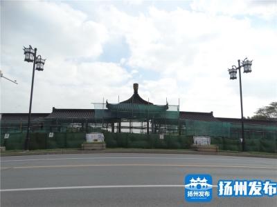 """古运河上的渡江桥亭廊要""""出新""""啦!"""