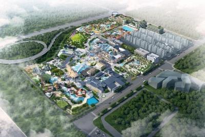 """扬州华侨城大型文旅项目明年运营 看一期""""梦幻之城""""啥模样?"""