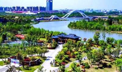 """江苏扬州:看运河三湾如何变成""""三好生"""""""